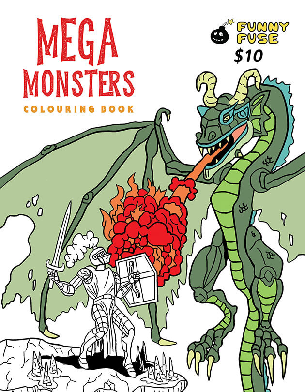 Mega Monsters Front Cover