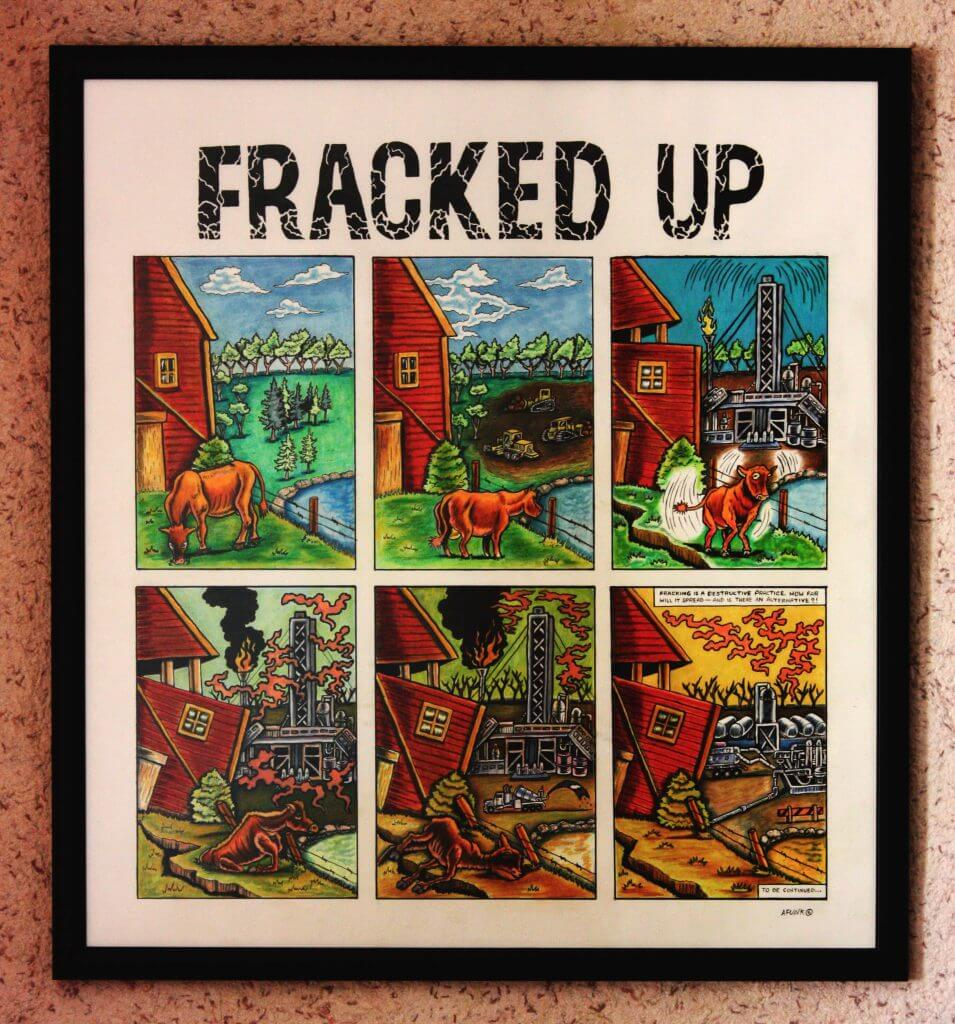 Fracked up frame